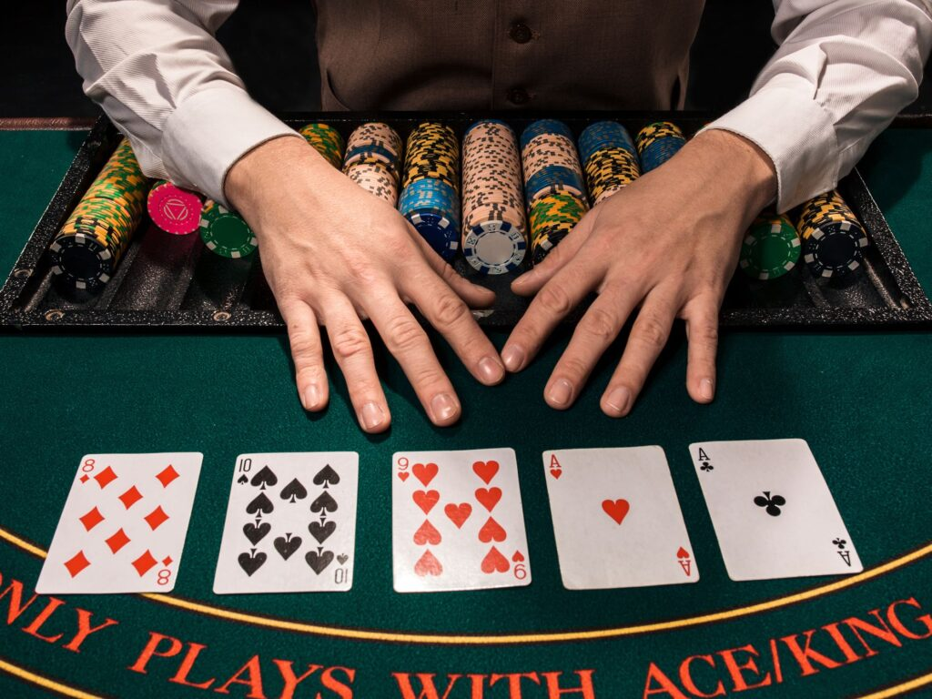 successful poker game